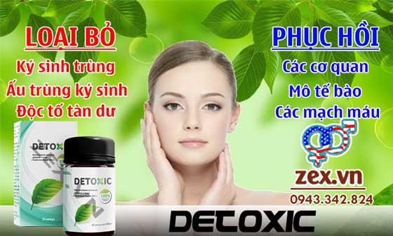 viên uống detoxic
